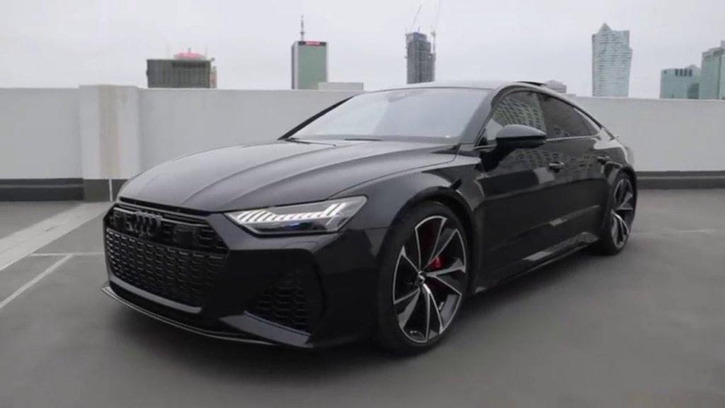 The new Audi RS7 2022 model