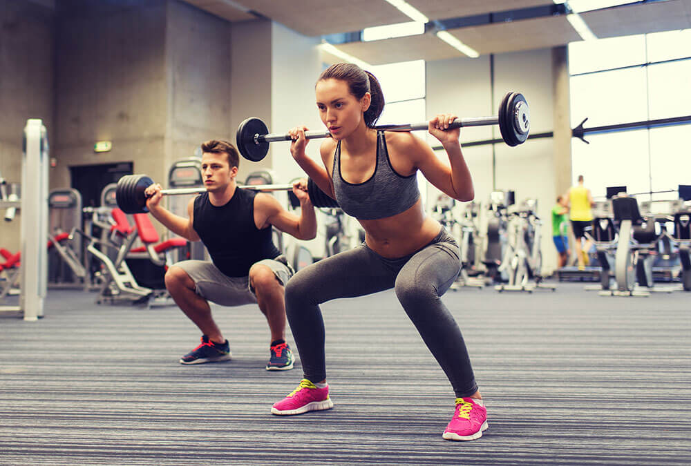 Strength training one of the 4 main type of exercise