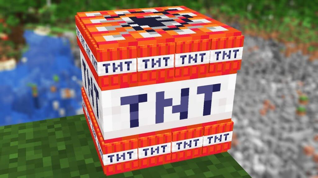 Use TNT to get rid of the cage surrounding the end crystal.