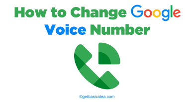 How to Change Google Voice Number