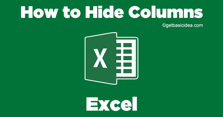 How to Hide Columns in Excel