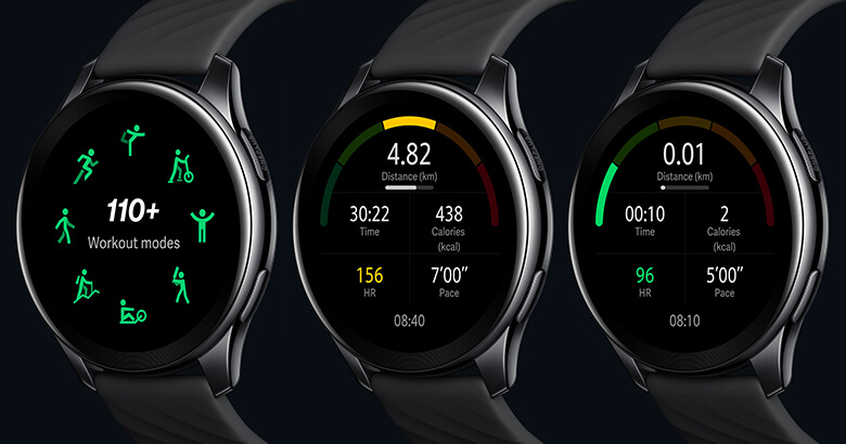 OnePlus Watch Fitness Tracking