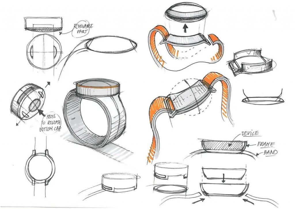 OnePlus watch design