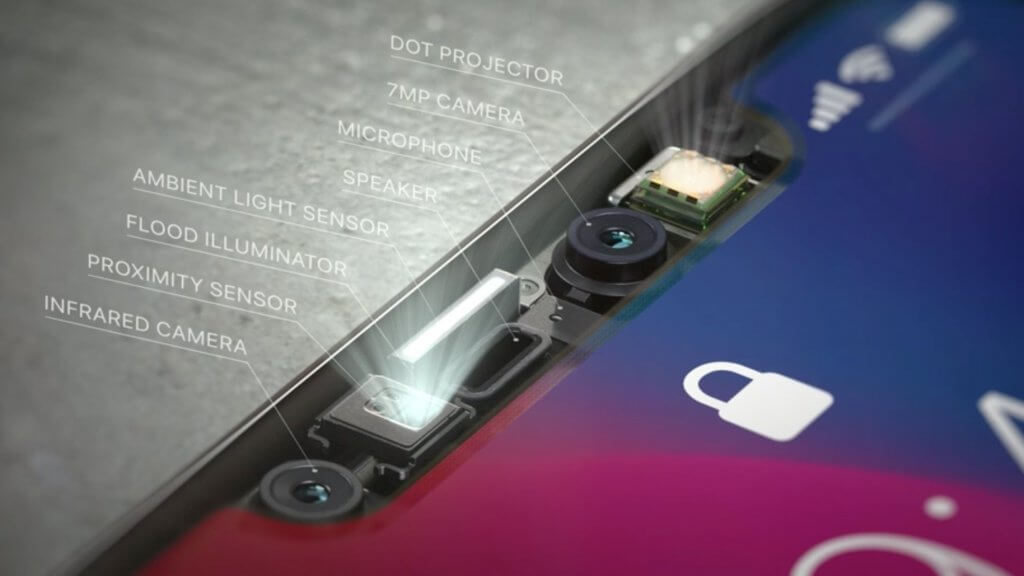 The sensors which are used in the iPhones.