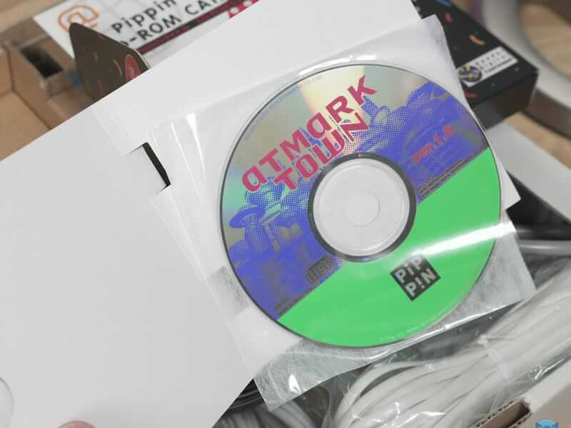 game CD - First Apple gaming console
