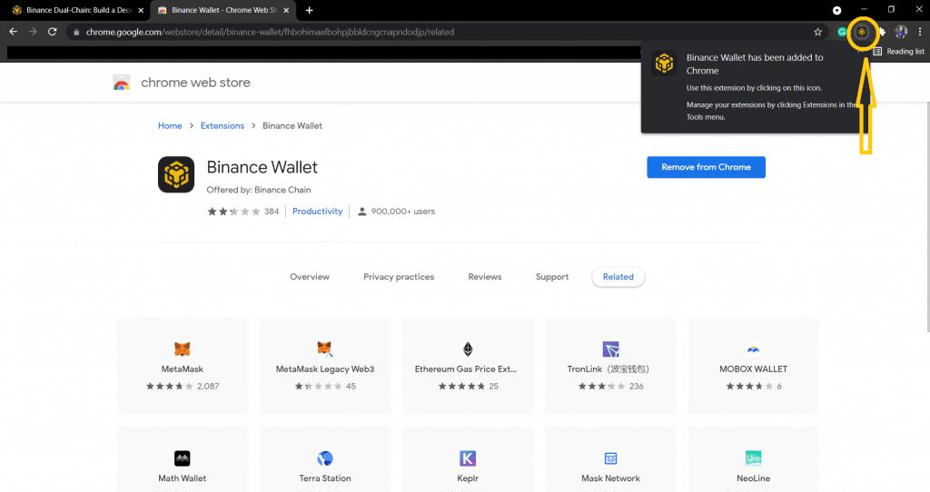 Added Google Chrome extension.