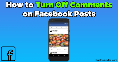 How to turn off comments on Facebook posts